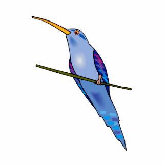 Harriot Hummingbird Standing Photo Sculpture