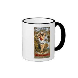 Harris, Beebe, & Co. -  Pocahontas Chewing Tobacco Ringer Coffee Mug