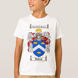 HARRIS FAMILY CREST -  HARRIS COAT OF ARMS T-Shirt