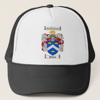 HARRIS FAMILY CREST -  HARRIS COAT OF ARMS TRUCKER HAT