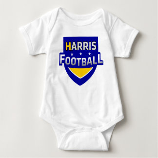 Harris Football Baby Outfit Baby Bodysuit