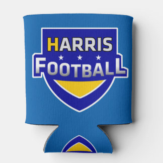 Harris Football Can Cooler