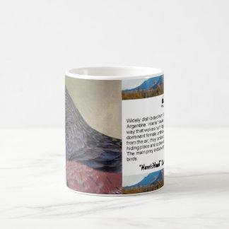Harris Hawk-cp Basic White Mug