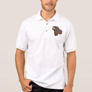 Harris Hawk Faux Embroidery Tshirts
