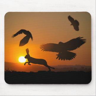 Harris Hawks Mousepad
