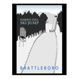 Harris Hill Ski Jump Postcard