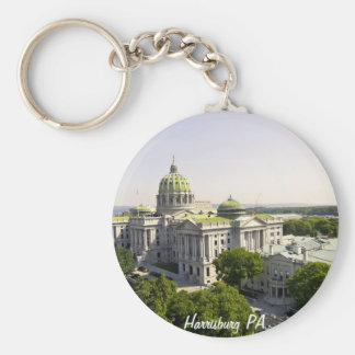 Harrisburg PA Key Ring