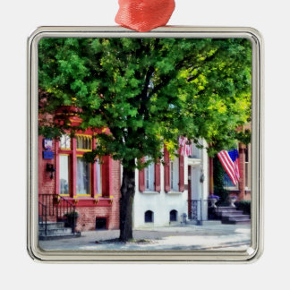 Harrisburg PA - Quiet Harrisburg Street Christmas Ornament