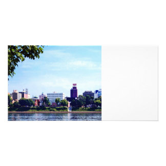 Harrisburg PA Skyline Picture Card