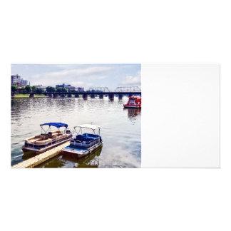 Harrisburg PA -View of Walnut Street Bridge Picture Card