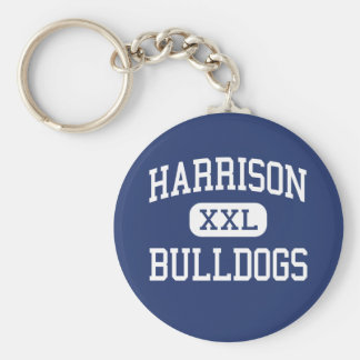 Harrison - Bulldogs - High - Kennesaw Georgia Key Ring