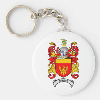 HARRISON FAMILY CREST -  HARRISON COAT OF ARMS KEY RING