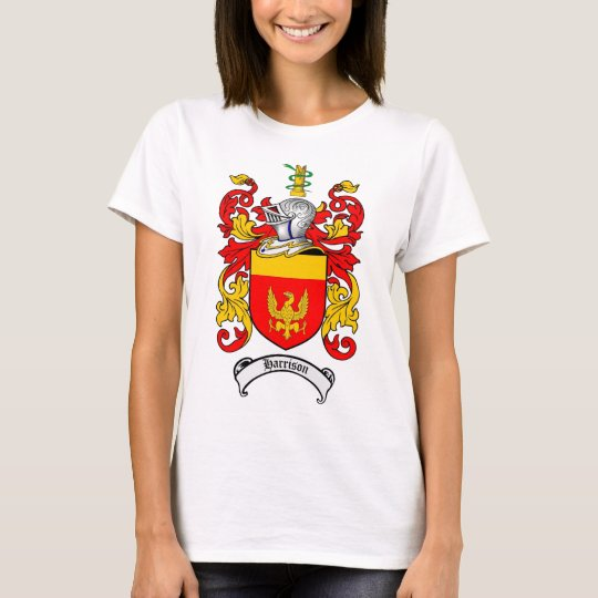 HARRISON FAMILY CREST -  HARRISON COAT OF ARMS T-Shirt
