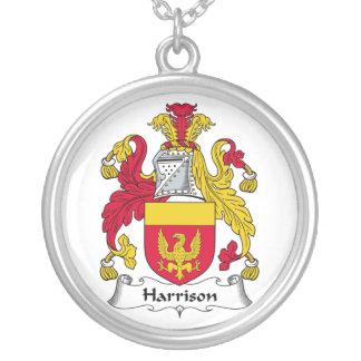 Harrison Family Crest Custom Necklace