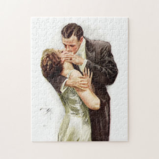 Harrison Fisher: The Kiss Puzzle