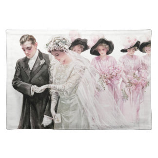 Harrison Fisher: The Wedding Placemat