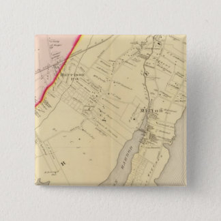 Harrison, Rye, New York 2 15 Cm Square Badge