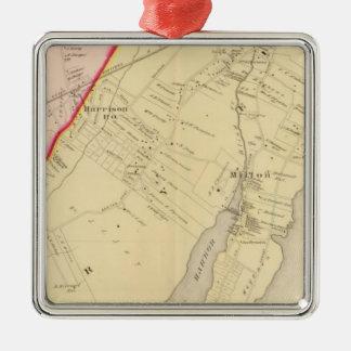 Harrison, Rye, New York 2 Christmas Ornament