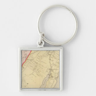 Harrison, Rye, New York 2 Key Ring