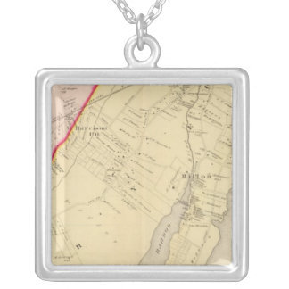 Harrison, Rye, New York 2 Silver Plated Necklace