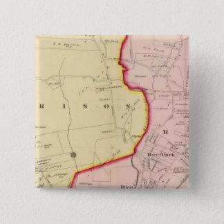 Harrison, Rye, New York 3 15 Cm Square Badge