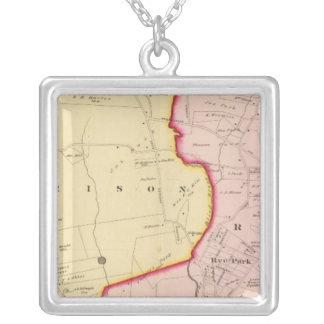 Harrison, Rye, New York 3 Square Pendant Necklace