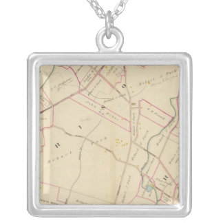 Harrison, Rye, New York Square Pendant Necklace