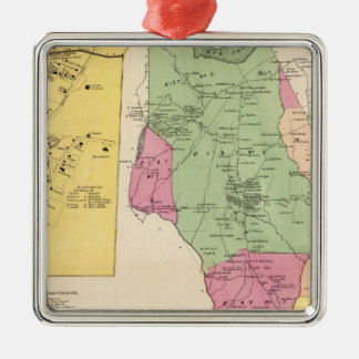 Harrison, Rye towns Christmas Ornament