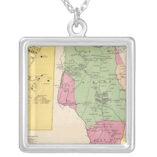 Harrison, Rye towns Silver Plated Necklace