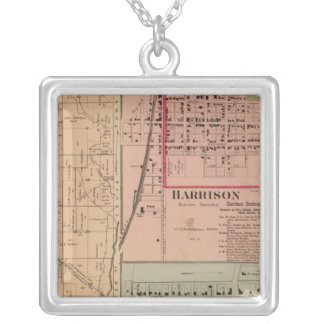 Harrison Township, Ohio Silver Plated Necklace