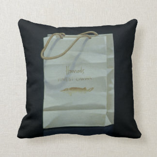 Harrods Caviar Bag 1989 Cushion