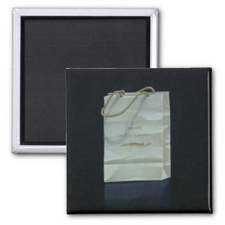 Harrods Caviar Bag 1989 Square Magnet