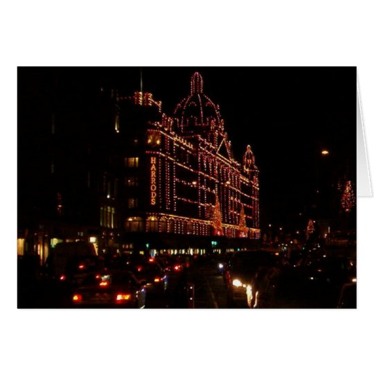 Harrods for the Holidays Card