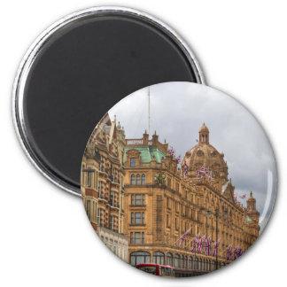 Harrods of Knightsbridge 6 Cm Round Magnet