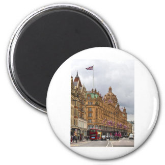 Harrods of Knightsbridge 6 Cm Round Magnet
