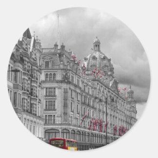Harrods of Knightsbridge bw hdr Stickers
