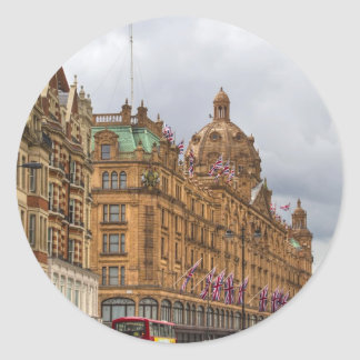 Harrods of Knightsbridge Round Sticker