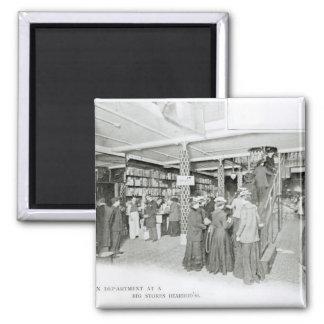 Harrods Provision Department, c.1901 Magnet