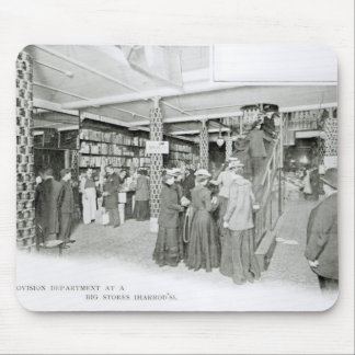 Harrods Provision Department, c.1901 Mouse Mat