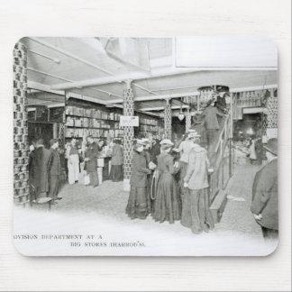 Harrods Provision Department, c.1901 Mouse Pad