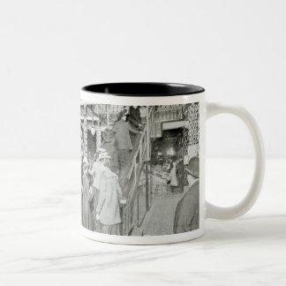 Harrods Provision Department, c.1901 Two-Tone Coffee Mug