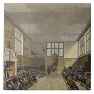 Harrow School Room from 'History of Harrow School' Tile