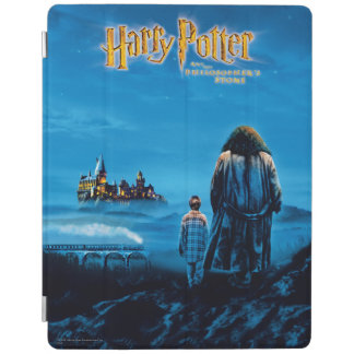 Harry and Hagrid International Movie Poster iPad Cover