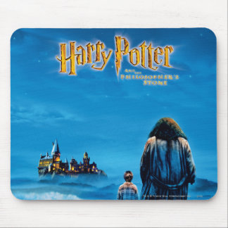 Harry and Hagrid International Movie Poster Mouse Mat