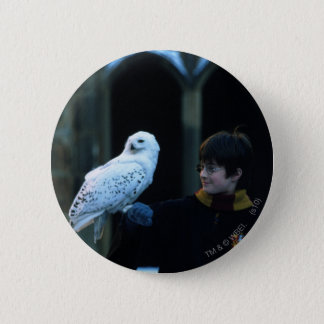 Harry and Hedwig 2 6 Cm Round Badge