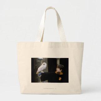 Harry and Hedwig 3 Jumbo Tote Bag