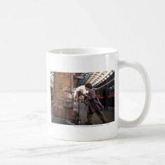 Harry and Hedwig Platform 9 3/4 Basic White Mug
