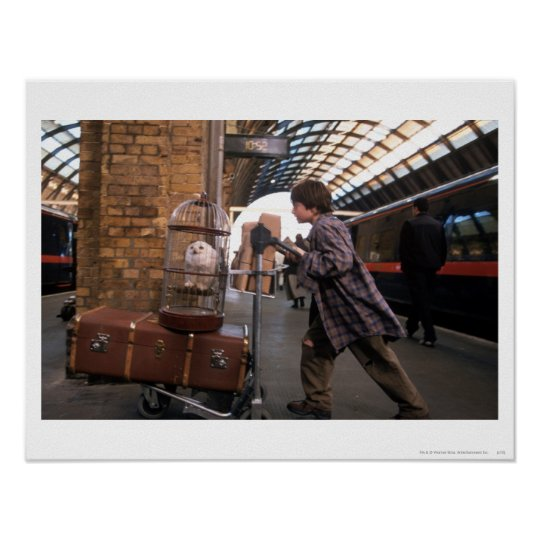 Harry and Hedwig PLATFORM 9 3/4™ Poster