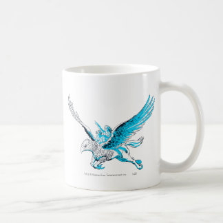 Harry and Hermione on a Hippogriff Basic White Mug