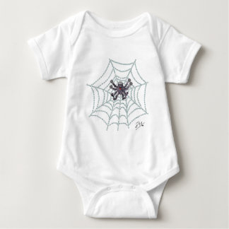 Harry Anderson the spider Baby Bodysuit